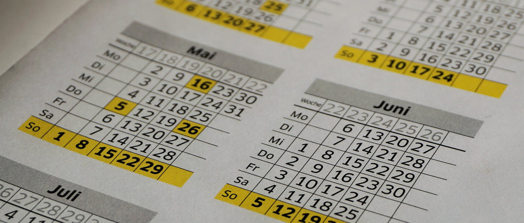 make a proper timetable
